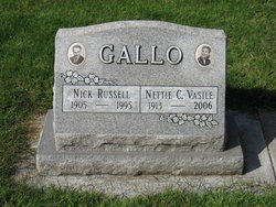 Nettie C <i>Vasile</i> Gallo