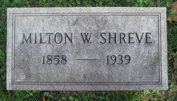 Milton William Shreve