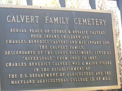 Calvert Family Cemetery