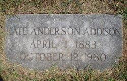 Kate <i>Anderson</i> Addison