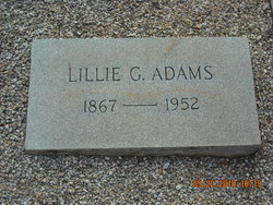 Lillian Lillie <i>Green</i> Adams