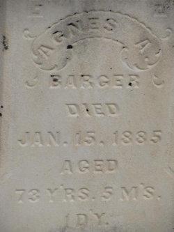 Mary Agnes Catherine <i>Mahan</i> Barger