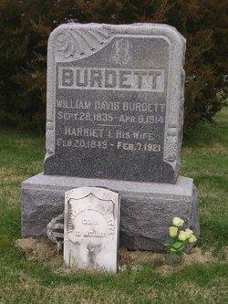 Harriet I. <i>Ellis</i> Burdett