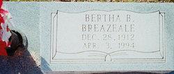 Bertha Beatrice <i>Weisinger</i> Breazeale