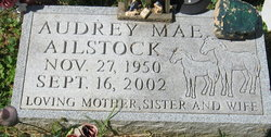 Audrey Mae <i>Fisher</i> Ailstock