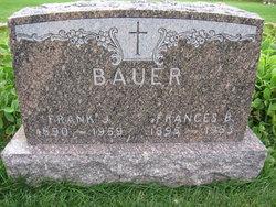 Frances B. <i>Donaubauer</i> Bauer