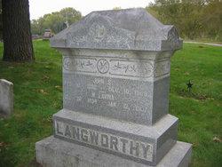 Mary Lavina <i>Richmond</i> Langworthy