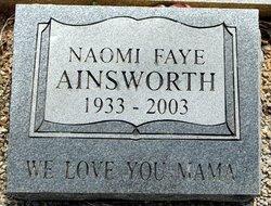 Naomi Faye Ainsworth