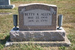 Betty K Allen
