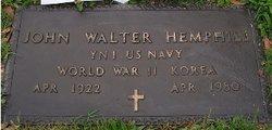 John Walter Little John Hemphill