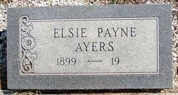 Elsie <i>Payne</i> Ayers