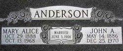 John Alexander Anderson