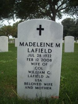 Madeleine Marie <i>Coupas</i> Lafield
