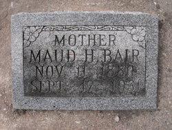Maud Thressa <i>Hill</i> Bair