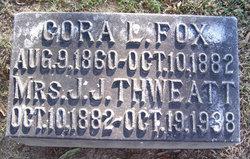 Cora L. <i>Fox</i> Thweatt