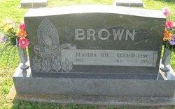 Gerald E Gene Brown