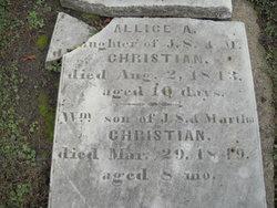 Allice A. Christian