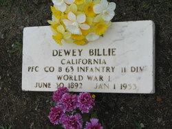 Dewey Billie
