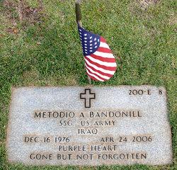 Sgt Metodio A. Bandonill