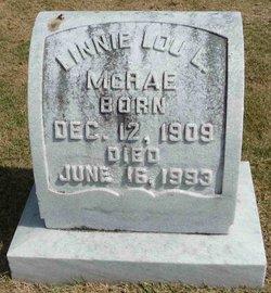 Linnie Lou <i>Landers</i> McRae