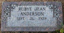 Rubye Jean <i>Covin</i> Anderson
