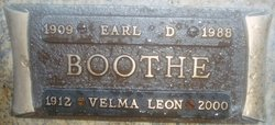 Velma <i>Leon</i> Boothe