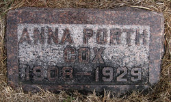 Anna Margarette <i>Porth</i> Cox