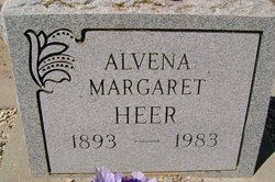 Alvena Margaret <i>Quenzer</i> Heer