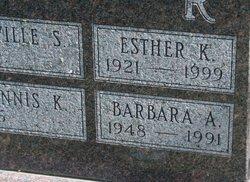 Esther <i>Keeran</i> Alexander