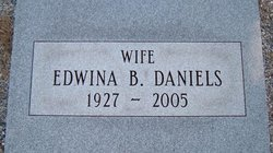 Edwina <i>Bray</i> Daniels