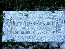 Ruth Eliza Guymon