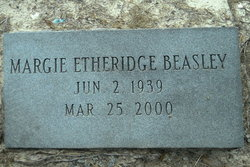 Margie <i>Etheridge</i> Beasley