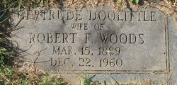 Gertrude Ann <i>Doolittle</i> Woods