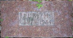 Ruby M Hall