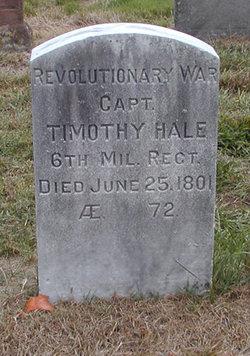 Capt Timothy Hale
