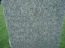 Fannie Elizabeth <i>Logan</i> Blain