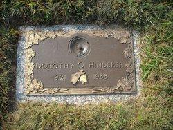 Dorothy O. Hinderer
