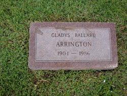 Gladys <i>Ballard</i> Arrington