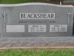 Irma A Blackshear