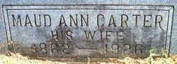 Maud Ann <i>Carter</i> Allison