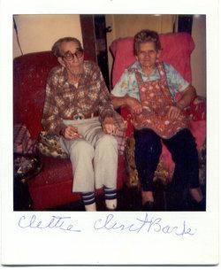Cletha Pearl Clettie <i>Howard</i> Barker