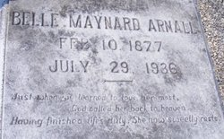 Belle <i>Maynard</i> Arnall