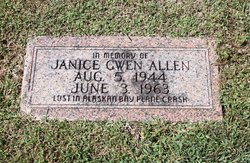 Janice Gwen Allen