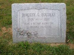 Mrs Dorothy L Dot Housman