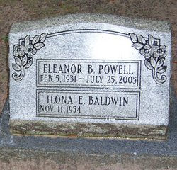 Eleanor <i>Baughman</i> Powell
