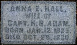 Anna <i>Hall</i> Adams