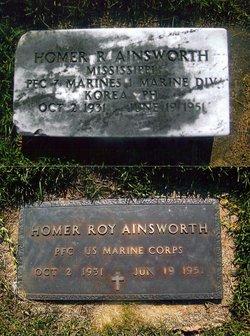 PFC Homer Roy Ainsworth