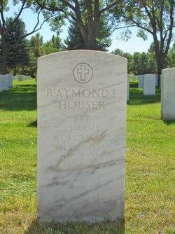 Raymond F Houser