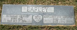 Zechariah Gilford Z. G. Earley