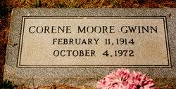 Corene F <i>Moore</i> Gwinn